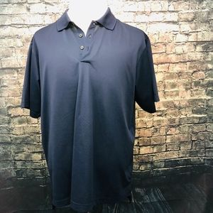 Adidas Climalite Golf/Polo Shirt in Navy Blue